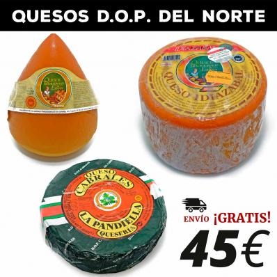 QUESOS D.O.P. DEL NORTE