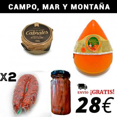 CAMPO, MAR Y MONTAÑA