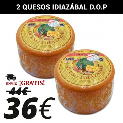 PACK DE 2 QUESOS IDIÁZABAL D.O.P.