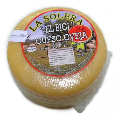"""QUESO SEMI CURADO """"LA SOLERA"""" 650-700gr"""