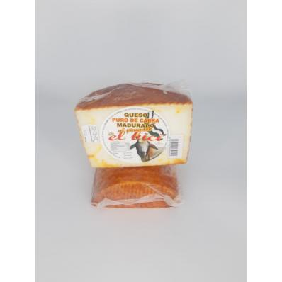 Queso de cabra madurado con pimentón de la vera 530-550 GRS
