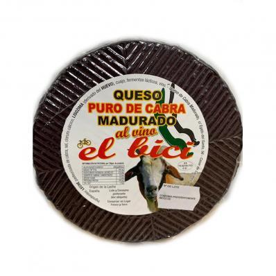 QUESO DE CABRA MADURADO AL VINO 650GR