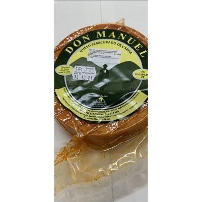 Queso de cabra con pimentón Don Manuel